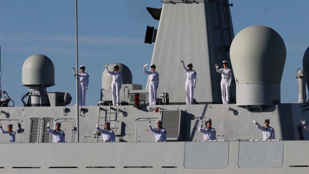 Manœuvres Iran-Chine-Russie: «un signal assez fort» envoyé par Téhéran